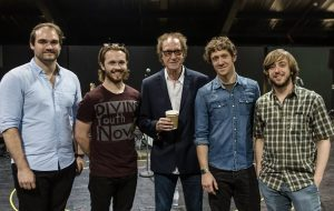 Andrew, Garmon, Ryan & Mark with The Kinks Ray Davies