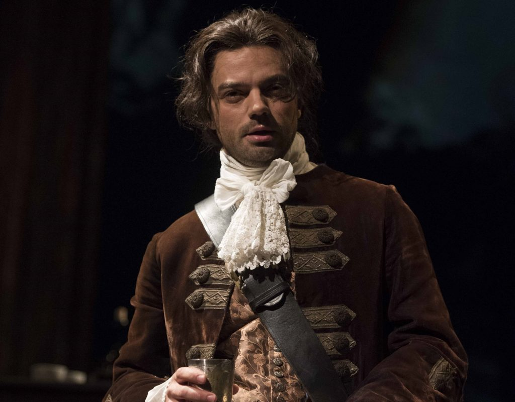 Dominic Cooper in The Libertine. Images Alastair Muir