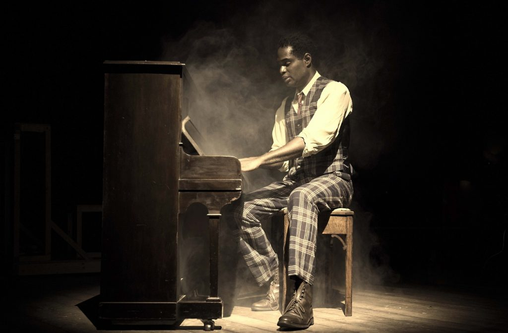 Ako Mitchell in Ragtime.  Image Annabel Vere.