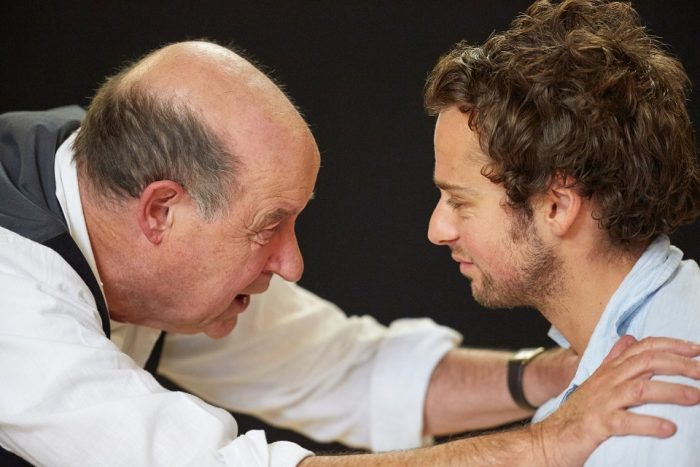 David Horovitch & Alex Waldmann in All My Sons. Image Mark Douet.