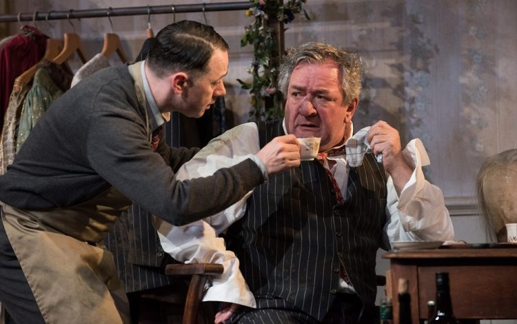Reece Shearsmith and Ken Stott in The Dresser. Images Hugo Glendinning