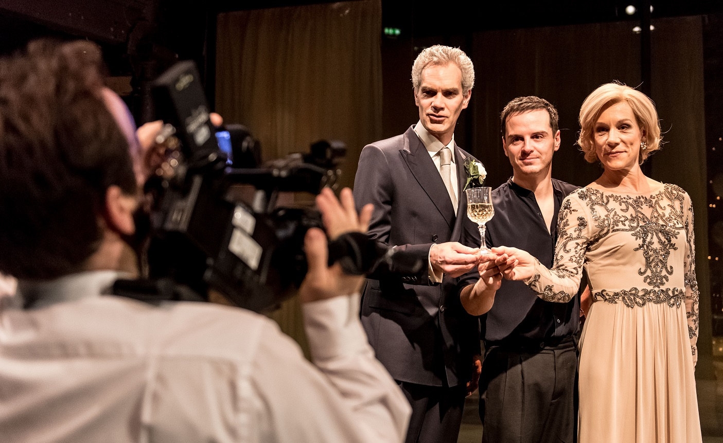 hamlet review Benedict cumberbatch stars as the danish prince in director lyndsey turner's modern-dress staging of 'hamlet' at london's barbican theatre.