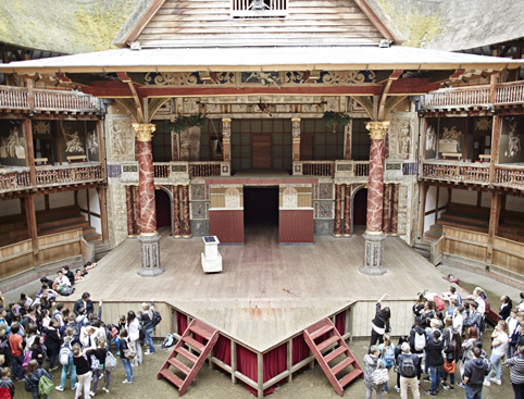 shakespeare globe theatre tour