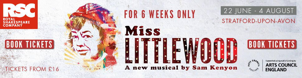 Miss Littlewood play tickets RSC