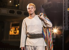 Lloyd Daniels joins Joseph and the Amazing Technicolor Dreamcoat. Photos by Darren Bell.