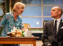 Sheila Reid & Michael Feast in Ghost From A Perfect Place. Photos by Ben Broomfield