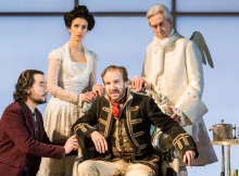 Ralph Fiennes in Man and Superman. Images Johan Persson
