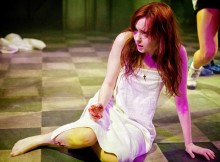 Evelyn Hoskins, as Carrie. Images Claire Bilyard
