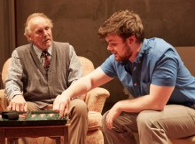 Clive Francis & Tom Hanson in The Gathered Leaves. Images Mark Douet.