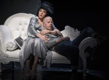 Tracy-Ann Oberman & Stephen Wight in McQueen. Images Specular.
