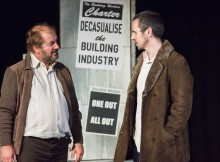 Neil Gore (left) & William Fox in United We Stand. Images Amy Yardley